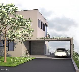 asdfg - Architekten - HAH - Haus Am Hang Phoenix See Dortmund Architektenmesse