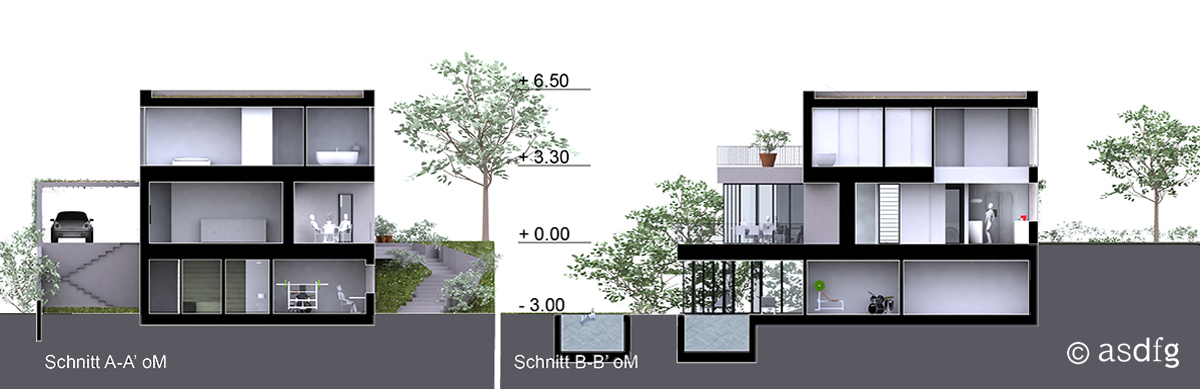 asdfg - Architekten - HAH - Haus Am Hang - Phoenix See Dortmund - Architektenmesse