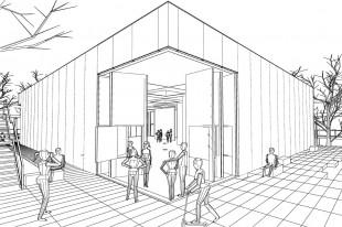 asdfg-Architekten-KRK-KunstRaumKassel-Skizze-09-Eingang-Bar-b