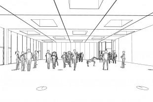 asdfg-Architekten-KRK-KunstRaumKassel-Skizze-10-Stellwand-Party