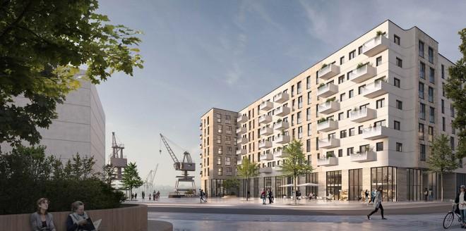 asdfg-Architekten-WQB-Wohnquartier-Baakenhafen-08-Perspektive-Nord-Ost