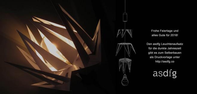 asdfg Architekten - Weihnachtskarte 2015