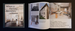 asdfg - Architekten - MMB - When a factory becomes a home . Adaptive Reuse for Living - Braun Publishing
