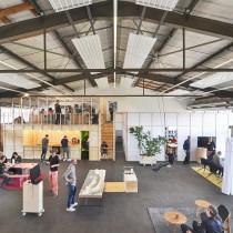 Proberaum Oberhafen Offene Werkstatt für Architektur