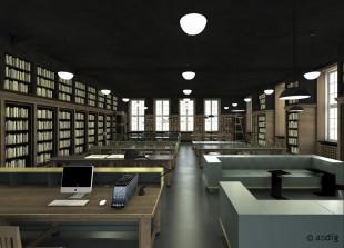 asdfg - Architekten - BHH - Bibliothek HFBK Hamburg, Hochschule für bildende Künste