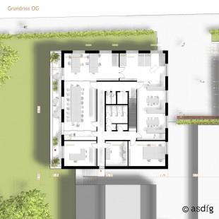 SPS - Eingangsgebäude Grundschule Potsdamer Strasse - Grundriss OG