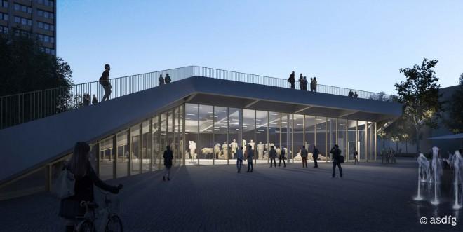 asdfg - Architekten - VMP - Van Melle Park Universität Hamburg